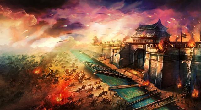 古代人行军打仗,为何不绕着城池走呢?
