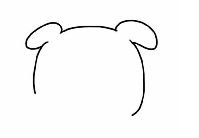 简笔画 可爱的小猪 巧手教育