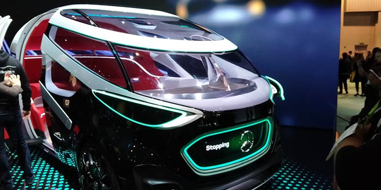 奔驰全新无人驾驶概念车亮相美国CES展:最多可载12人_腾讯分分彩