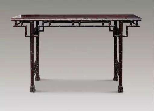 欣赏|54款红木家具平头案,沉淀了岁月的美-缅甸花梨