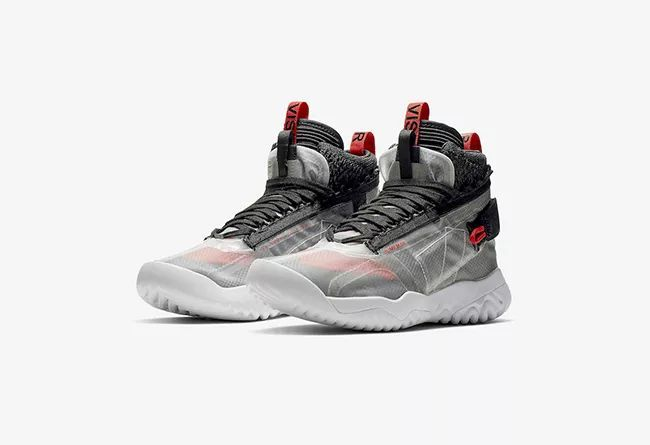 AJ1 也要机能风?科幻鞋型 Jordan Apex Utility