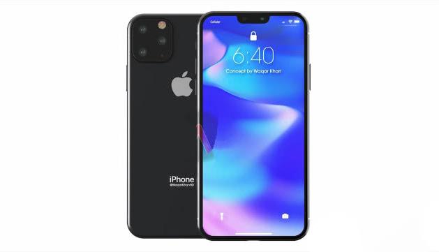 2019年新iPhone渲染图曝光,网友:华为Mate20 Pro有对手