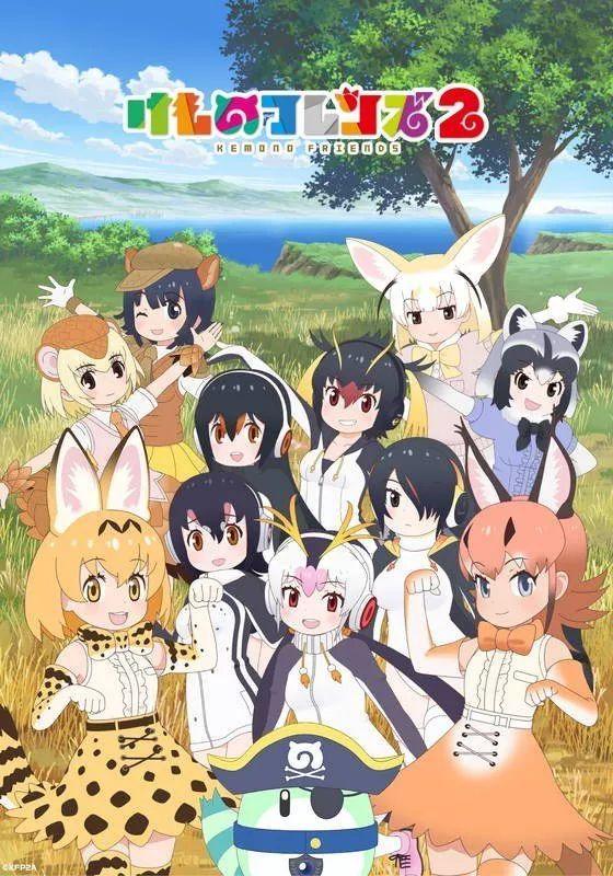 兽娘动物园第二季 Kemono Friends S2 1-12 (BD 1920x1080 x.264 Flac)