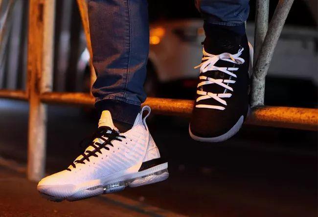 """鸳鸯 Nike LeBron 16 """"Equality""""(左黑右白)  货号: BQ5969-101"""