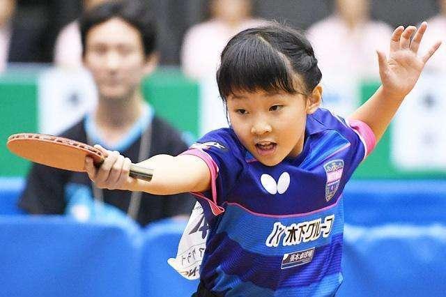 又一乒乓天才横空出世张本智和妹妹在全日锦标赛连胜四场