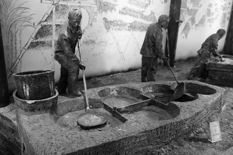 古法红糖文化和手工制作工艺流程 以场景再现和diy作坊增加观赏性和参