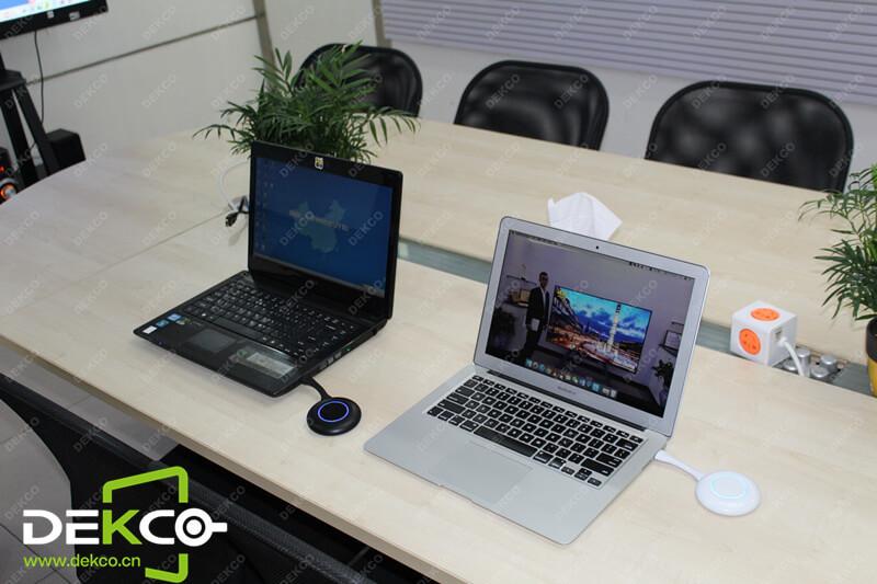 针对会议室应用,国内目前热销的一款无线投屏方案
