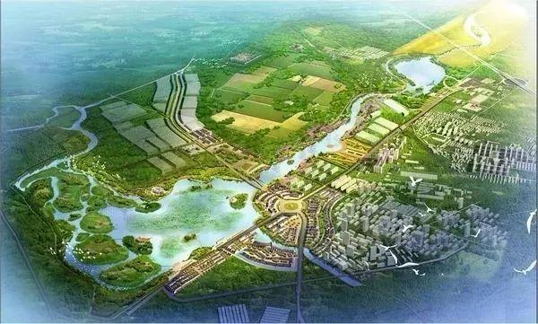 ▲琉璃河湿地公园规划图