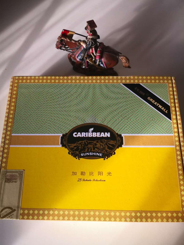 加勒比阳光 礼盒装 长城雪茄 中国雪茄的 希望