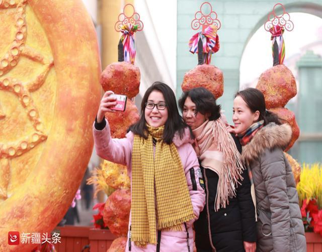 晨看新疆|去年新疆游客突破1.5亿人次,红山公园新春庙会28日启幕