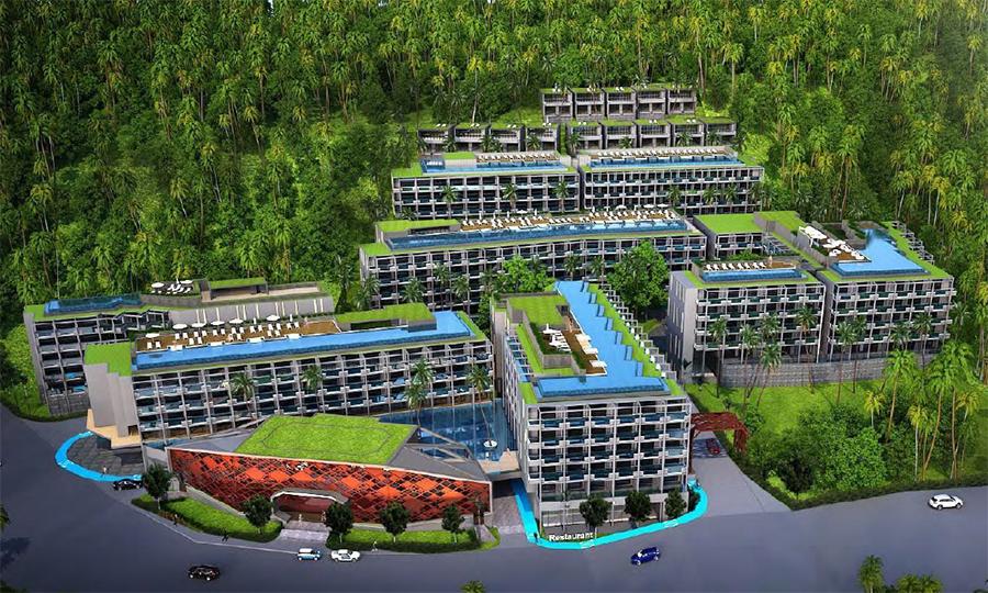 普吉房产Oceana Surin Condominium包租3年8%/年