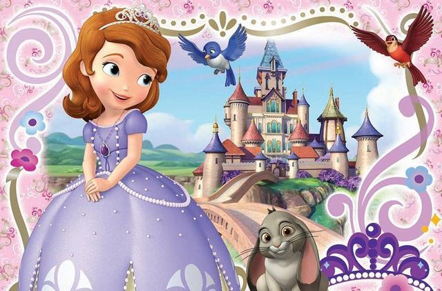小公主苏菲亚 公主形象各具特色,安柏公主比主角苏菲亚还要好看