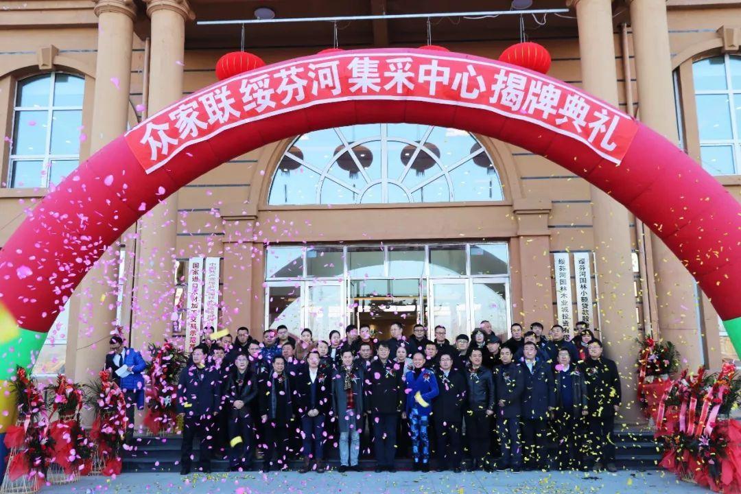 共建·共享·共生 | 众家联绥芬河集采中心揭牌正式成立-红酸枝