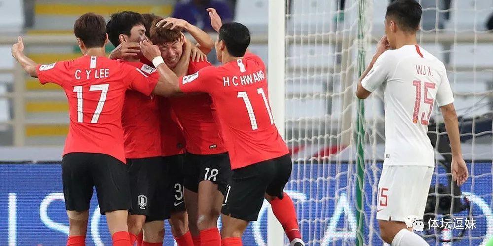 事实证明国足和德国一个水平都输韩国0比2