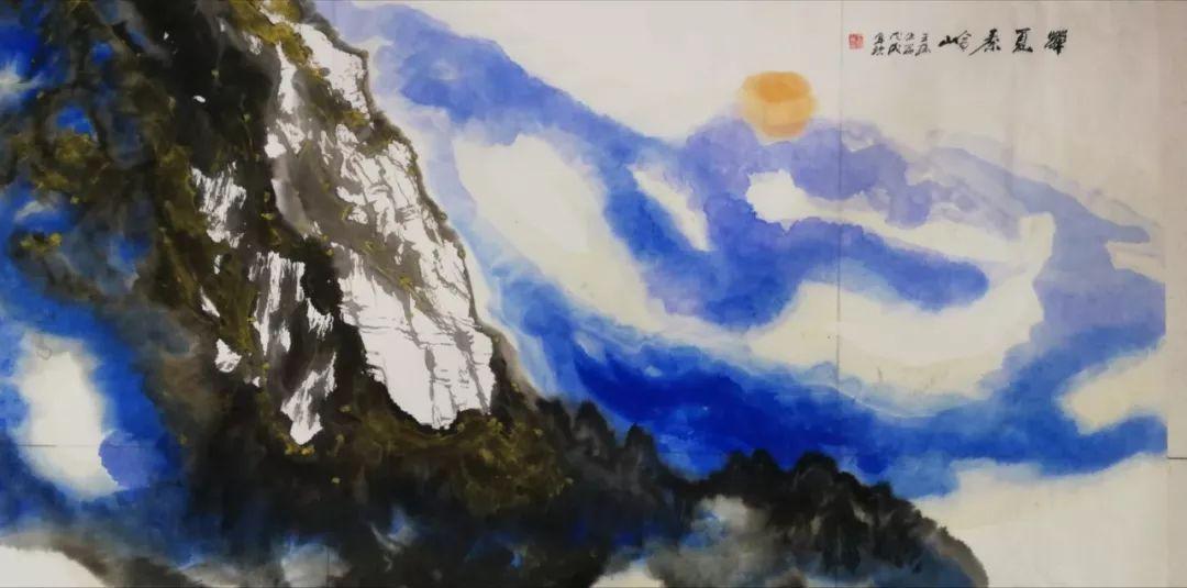 新长安画派创始人 王榆生 中国画艺术馆—宝霞斋
