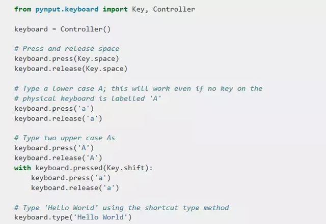 神技能:Python控制键盘鼠标- python学习者的博客- CSDN博客