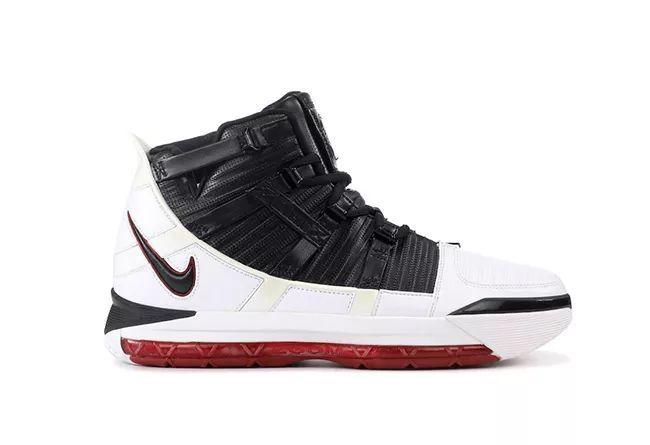 "Nike LeBron 3 ""Home"" QS  货号:AO2434-101"