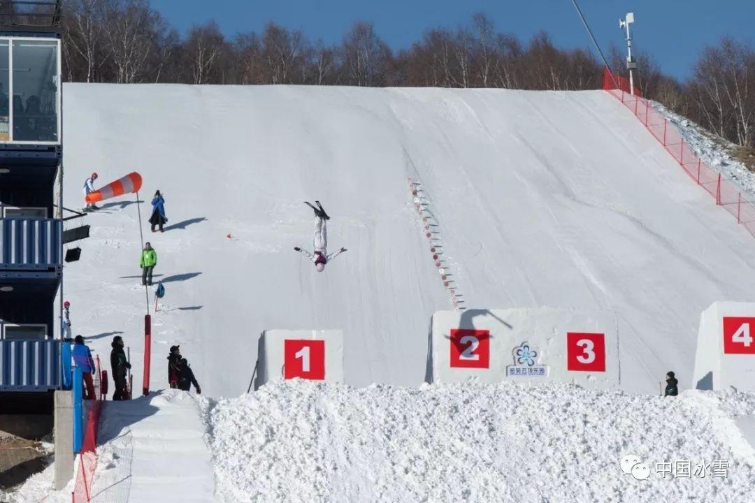 2019年度全国自由式滑雪空中技巧U系列赛在崇礼开幕