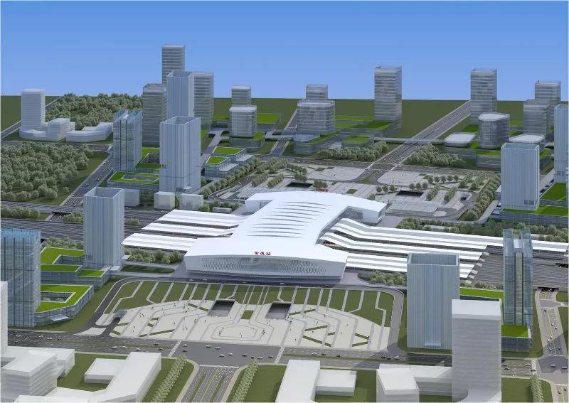 常德高铁新城规划概念图