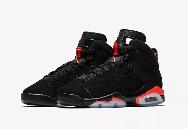 "Air Jordan 6 ""Black Infrared""  货号:384664-060"