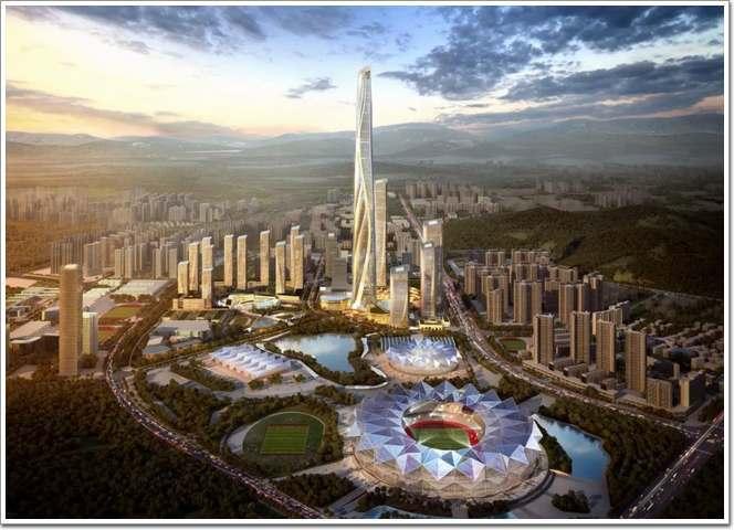 「59图你快」深港国际中心——中国最高建筑图片