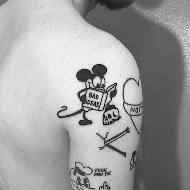 那些年少时纹身的人,后来都怎么样了.