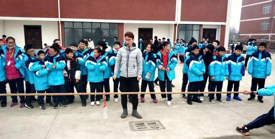 固始县永和中学七年级拔河比赛圆满落幕