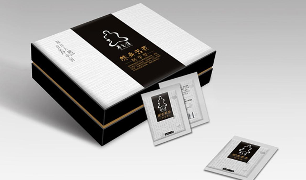 苦荞茶包装设计
