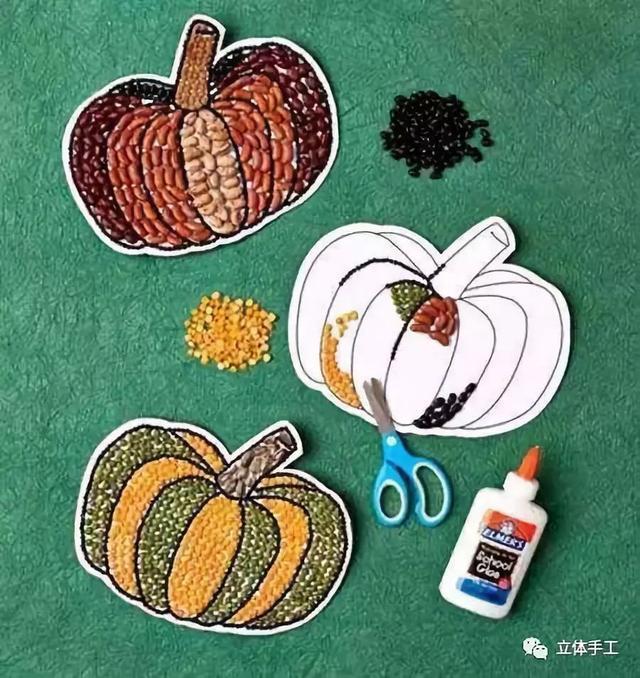爱萌客:了不起的种子拼贴画,过年必备创意!