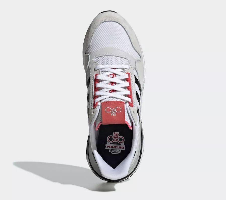 永久自行车也有联名YONGJIU x adidas ZX 500 RM  货号:G27577
