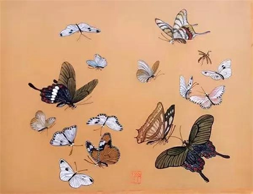 艺术家康巴雪莲作品欣赏