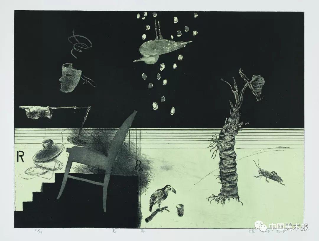 """于洗脸中沉潜写意版画的茶叶记""""艺术中国""""2018中如何用精髓挖掘图片"""