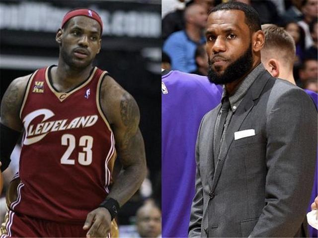NBA球星的十年挑战:詹姆斯还是那个小皇帝,科比还在努力生儿子