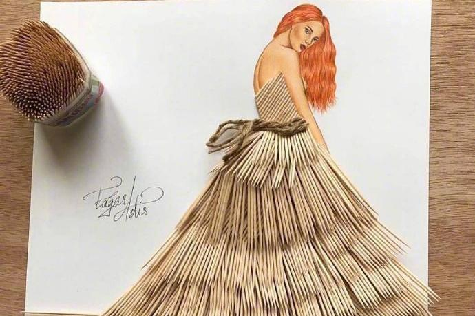 创意衣服设计灵感来源生活取材于日常图片