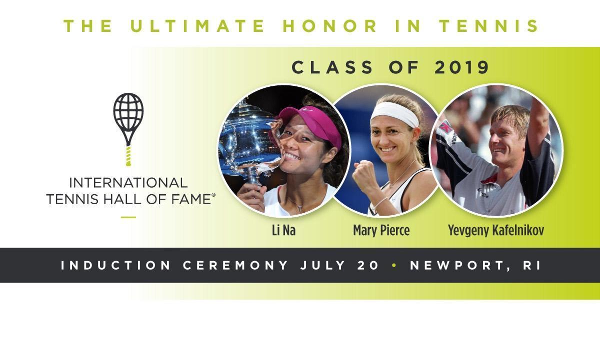 两届大满贯冠军李娜入选国际网球名人堂