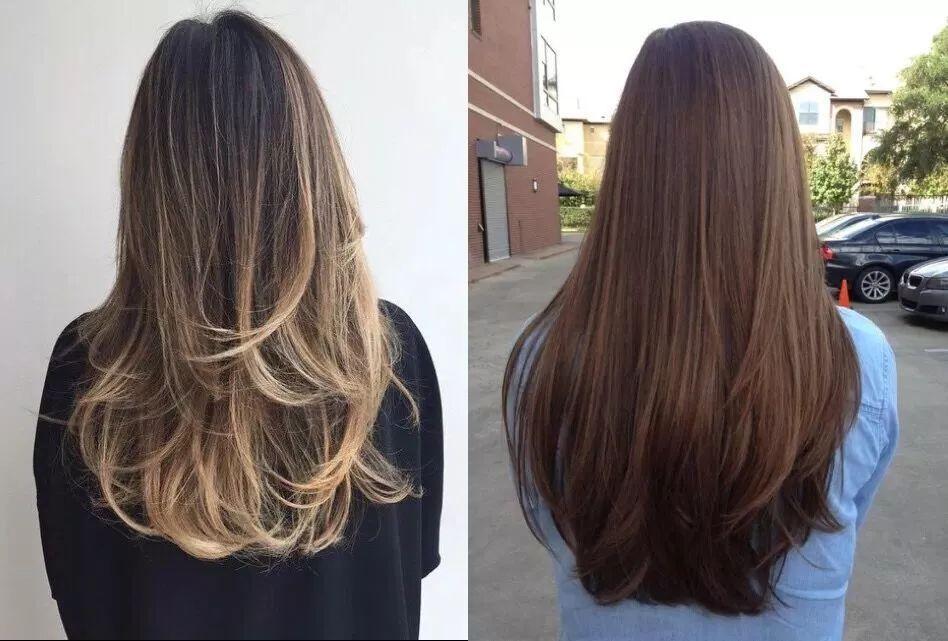 j卷波浪有点类似内扣 只在长发的发尾有一点卷度 不像黑长直那么单调