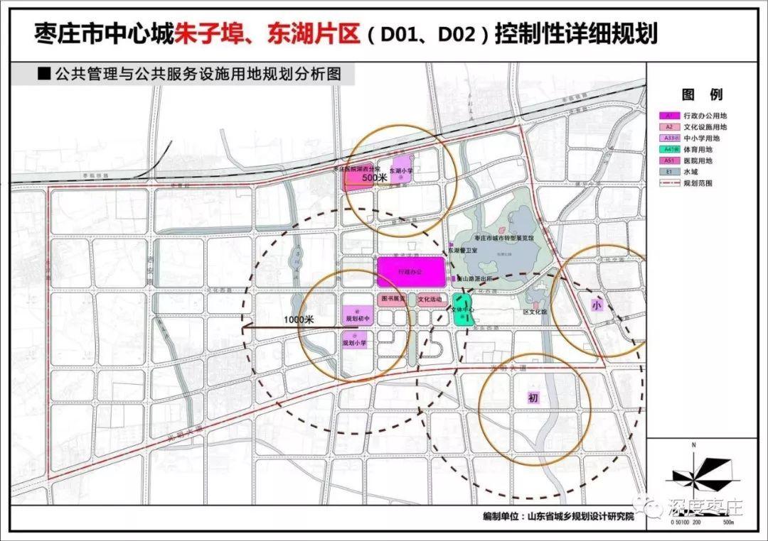 新规划图 枣庄市中区将向西发展未来连接新城