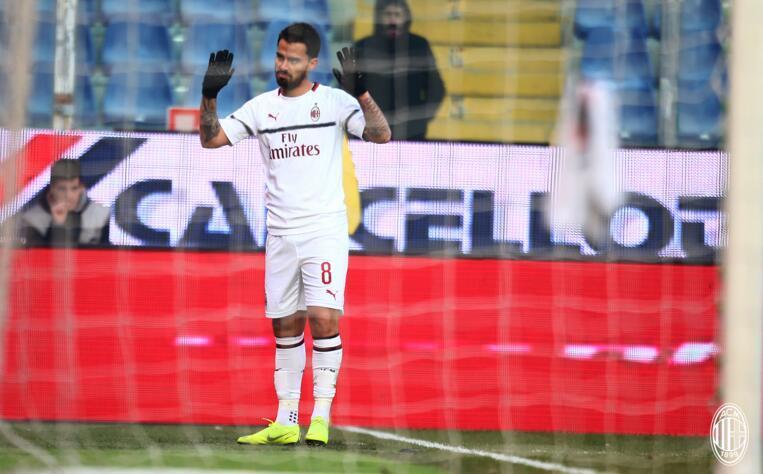 意甲-博里尼苏索破门 米兰客场2-0积分重回前四
