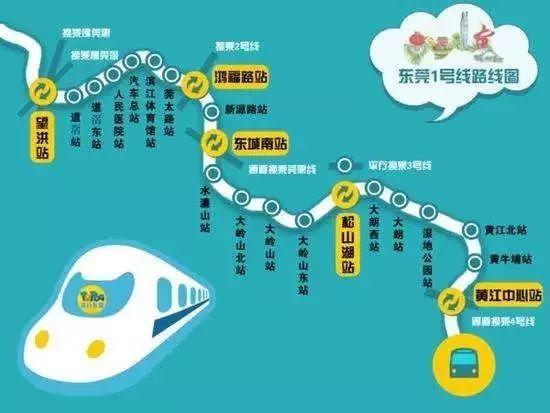 东莞地铁1号线即将全面开工!两巨无霸央企中标,预计通车时间在