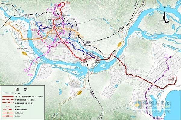 连江县城区最新规划图