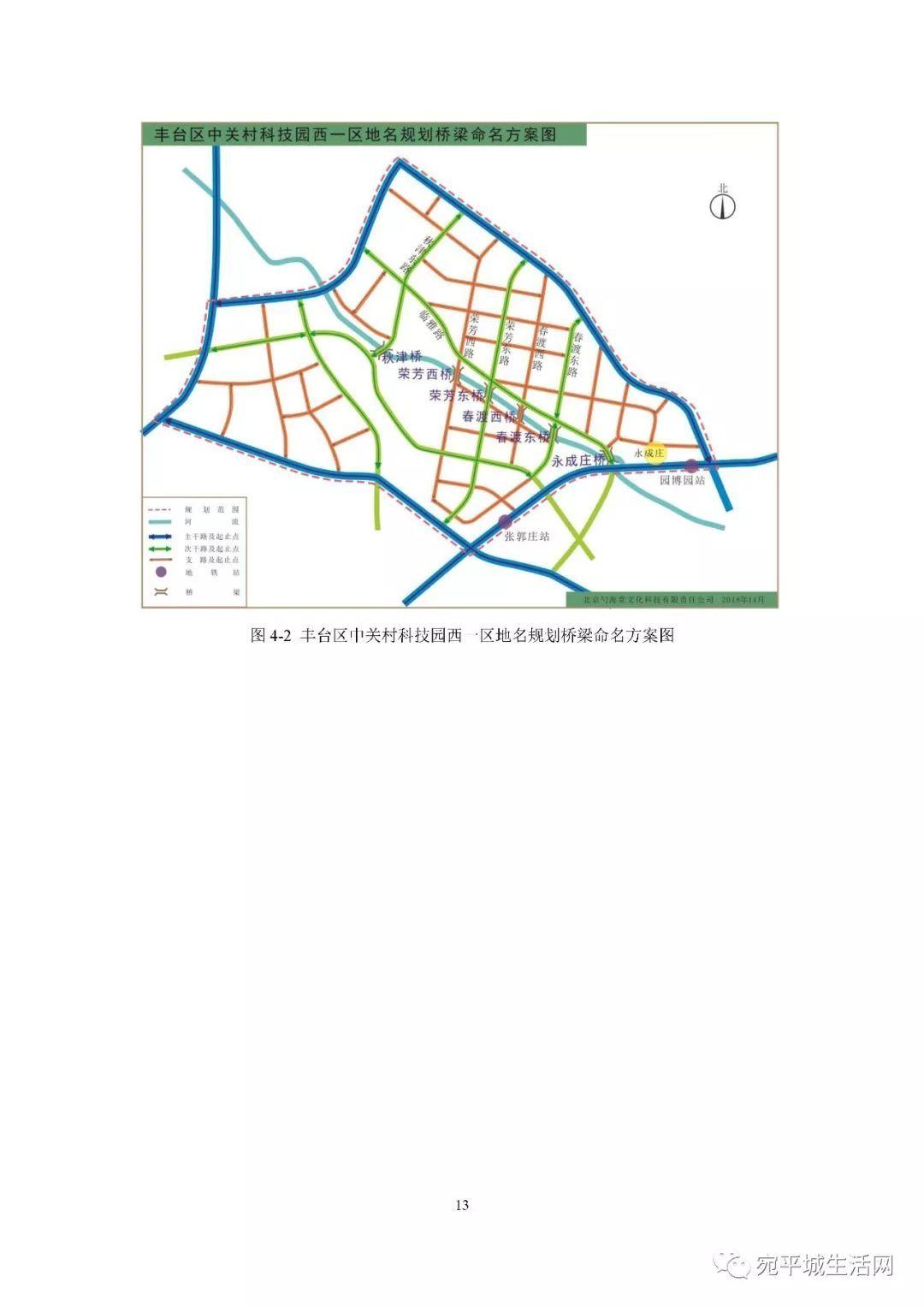 咱卢沟桥附近的中关村西区地名规划开始公示,含长辛店 园博园区域,春渡东路 临雅路 明秀路 是不是很好听呢