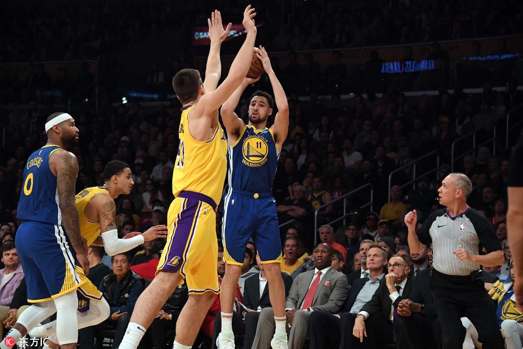 汤神三分又破NBA历史纪录 考辛斯未摆脱犯规困扰