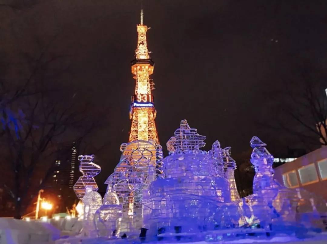 春节假期可以去札幌参加第70届冰雪节哟.图片