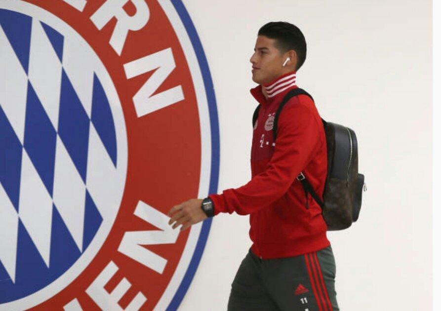 曝J罗拒绝冬窗离开拜仁 下赛季或继续留队效力