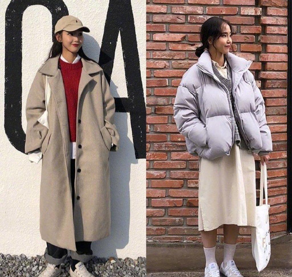 原創             堪稱冬季穿搭典範,羊羔絨搭配半身裙少女感爆棚,優雅又青春靚麗 形象穿搭 第4張