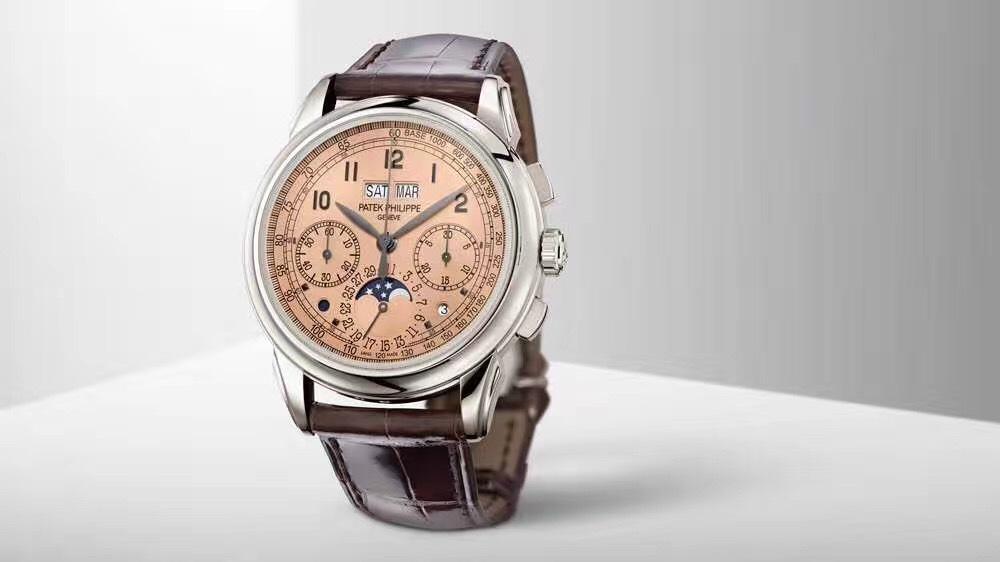 表王的第五代万年历手表 PATEK PHILIPPE百达翡丽5270P铂 常州高价回收百达翡丽