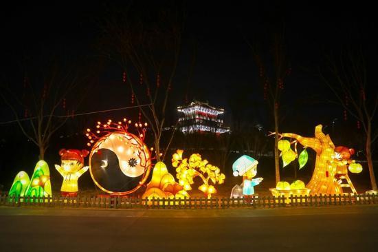"""喜迎新春,灯耀园博,学生遊园优惠多多,郑州园博园新春灯会让你""""大饱眼福"""""""