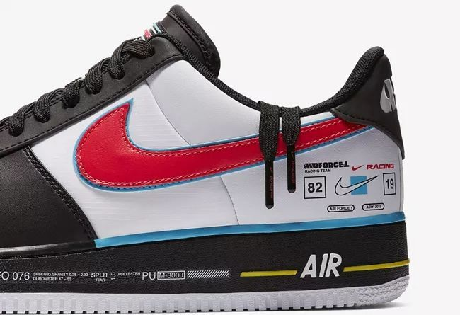 赛车主题Nike Air Force 1'07 AS QS  货号:AH8462-004