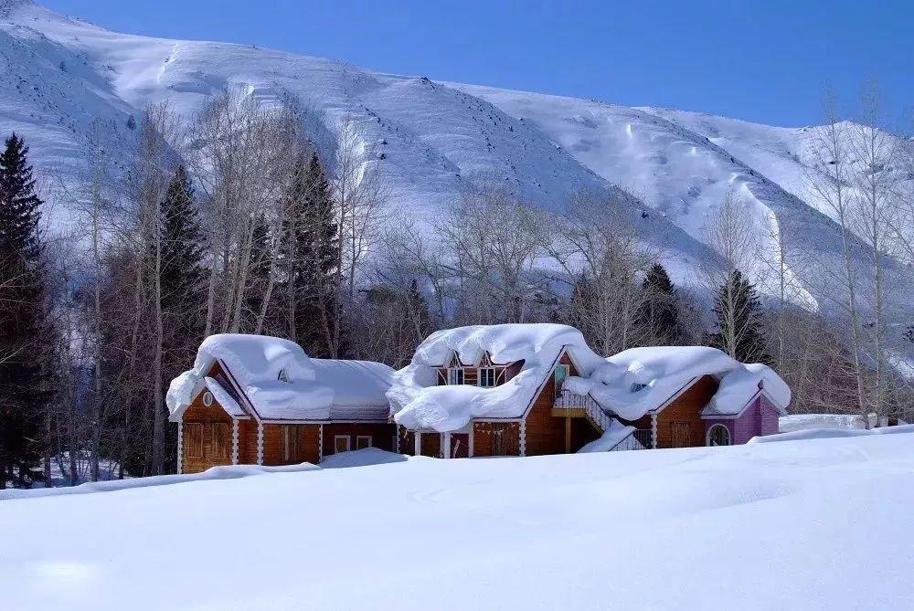 有一种冬天,叫新疆的冬天 有一种雪,叫新疆的雪