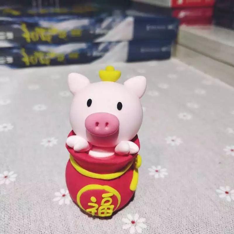 活动预告 | 粘土diy福袋小猪